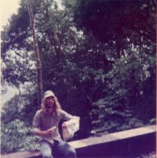Simon Leather - expedition to Trinidad & Tobago 1975